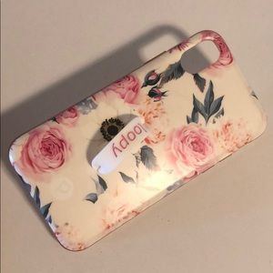 Loopy case floral